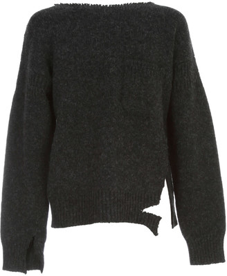 Marni Crew Neck Destroyed Knit