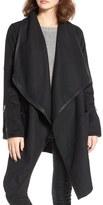 Blank NYC BLANKNYC Blackout Wool Blend Drape Jacket