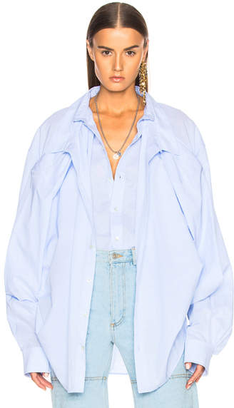 Y/Project Y Project Double Layer Shirt