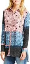 Jessica Simpson Womens Haylan Geo Print Shirtdress
