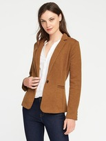 Old Navy Classic Pique-Knit Blazer for Women