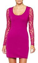 Mng by Mango® Lace-Accent Dress