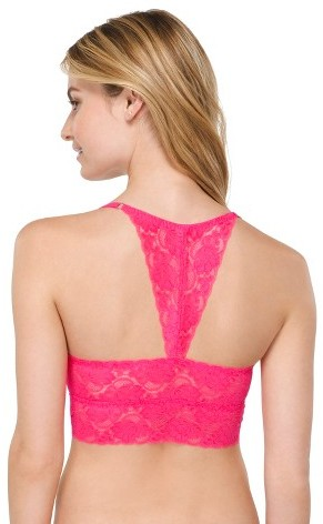 Xhilaration Women's Perfect Racerback Lace Bralette