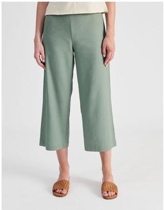 Tokito Elastic Back Linen Culottes