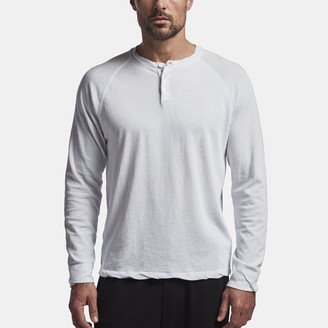 James Perse Dry Touch Jersey Henley