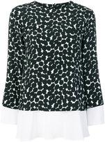 Barba dot print blouse