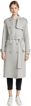 Theory Women's Statement Trench Df