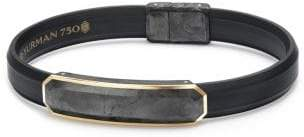 David Yurman Forged Carbon Rubber Bracelet