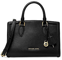 MICHAEL Michael Kors Women's Medium Zoe Leather Satchel
