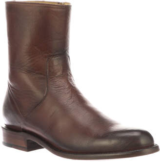 Lucchese Men's Jonah Burnished Leather Dress Boots (Made to Order)