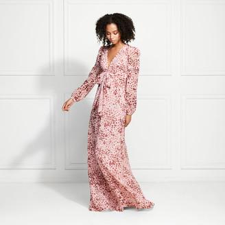 Rachel Zoe Penelope Floral Leopard Maxi Dress