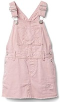 Gap Rip & repair denim skirt overalls