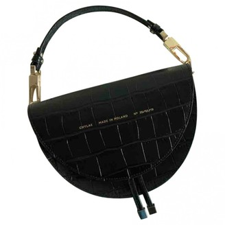 CHYLAK Black Leather Handbags