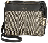 Nine West Helda Triple-Zip Crossbody