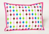 Bacati Botanical Sanctuary Pearl String Multicolor Pink Decorative Pillow1
