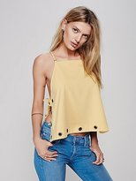 Free People City Fever Grommet Tank