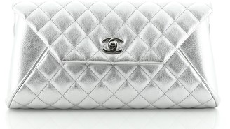 Chanel Fold Up Again Clutch Quilted Goatskin
