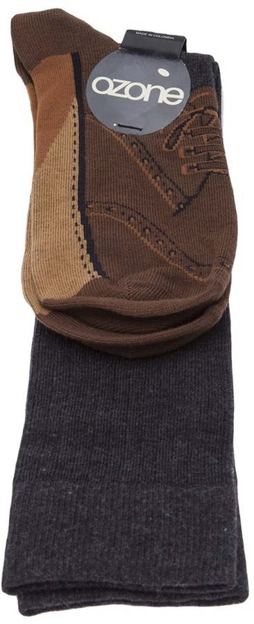Ozone brogue sock