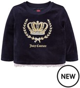 Juicy Couture Velour Crown Pullover