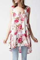 Jodifl V Neck Floral Tunic