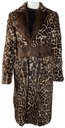 Givenchy Brown Fur Coat for Women
