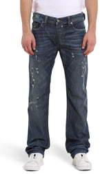 Diesel Safado Distressed Slim Straight Leg Jeans