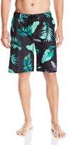 Kanu Surf Men's Cozumel Floral Swim Trunk