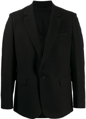 Ann Demeulemeester Fitted Single-Breasted Blazer
