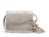 Elizabeth and James Eloise crocodile-effect leather cross-body bag