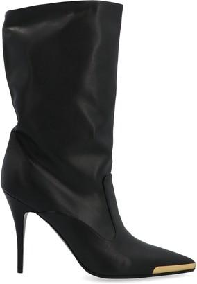 Stella McCartney Stiletto Heeled Pointed Toe Boots