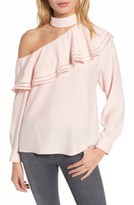 Parker Women's Bellini One-Shoulder Silk Blouse
