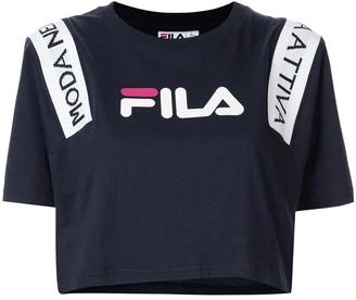 Fila Cropped Logo T-shirt