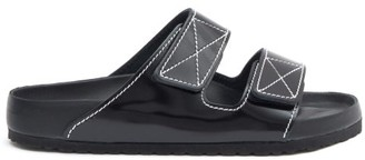 Birkenstock x Proenza Schouler X Proenza Schouler Arizona Leather Slides - Black
