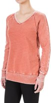 Allen Allen Raglan V-Neck Tunic Shirt - Long Sleeve (For Women)