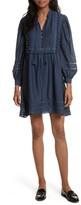 Sea Women's Pompom Cotton & Silk Tunic Dress