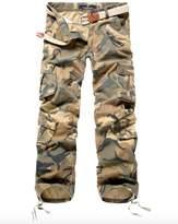 Elonglin Mens Military Combat Pants Cargo Trousers Multipockets W 36 (Asian 38)