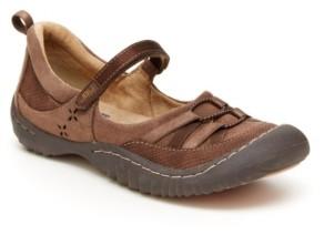 JBU Emmie Women's Casual Sporty Mary Jane Flats Women's Shoes