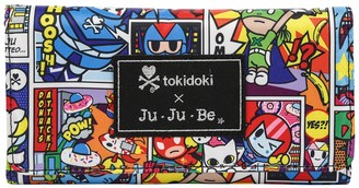 Ju-Ju-Be x tokidoki for Hello Sanrio Rainbow Dreams Be Rich Trifold Clutch Wallet