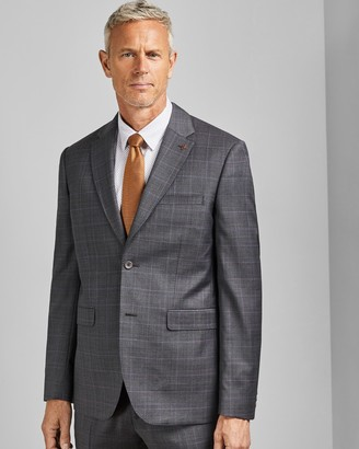 Ted Baker FEENTJ Tall Performance Check Suit Jacket