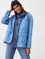 Trespass Seawater Waterproof Jacket - Denim Blue
