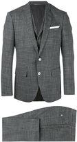 HUGO BOSS glen plaid two-piece suit - men - Cupro/Viscose/Virgin Wool - 48
