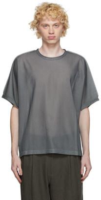 Issey Miyake Grey A-POC 24G T-Shirt
