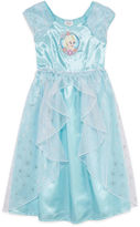 Disney Collection Cap-Sleeve Frozen Gown