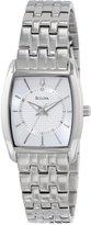 Bulova Women's 96L130 Silver Dial Bracelet Watch