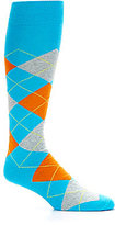 Daniel Cremieux Bright Argyle Over-the-Calf Dress Socks