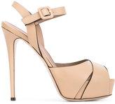 Le Silla platform sandals - women - Calf Leather/Leather - 36