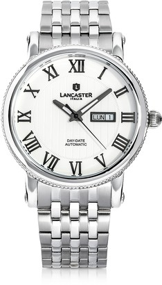Lancaster Monarch Automatic Stainless Steel Watch
