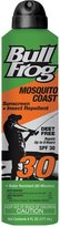Bull Frog Mosquito Coast Sunscreen Insect Repellent Continuous Spray - SPF 30 - 6 oz