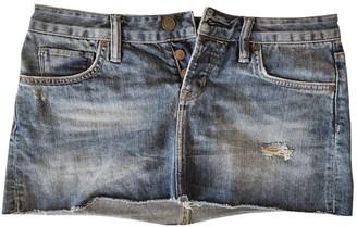 AllSaints Blue Denim - Jeans Skirt for Women
