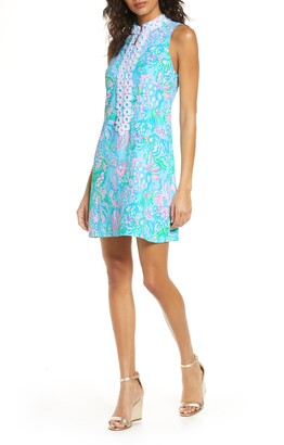 Lilly Pulitzer R) Jane Sleeveless Shift Dress
